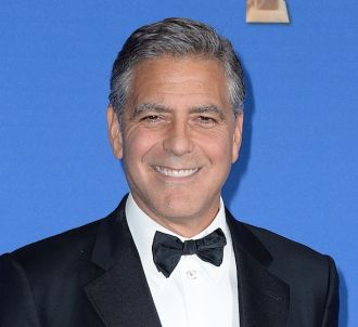 George Clooney aux Golden Globes 2015