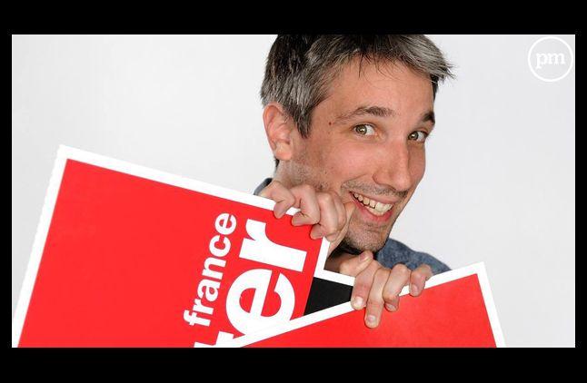 Guillaume Meurice, chroniqueur sur France Inter.