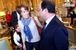"""Une lectrice du """"Parisien"""" renversée par Philae, la chienne de François Hollande"""