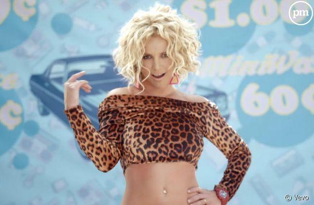 """Britney Spears dans le clip de """"Pretty Girls"""""""