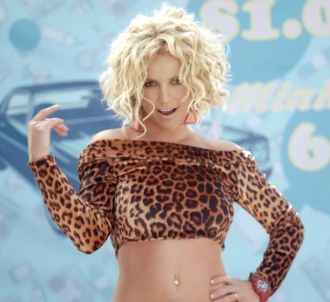 Britney Spears dans le clip de 'Pretty Girls'