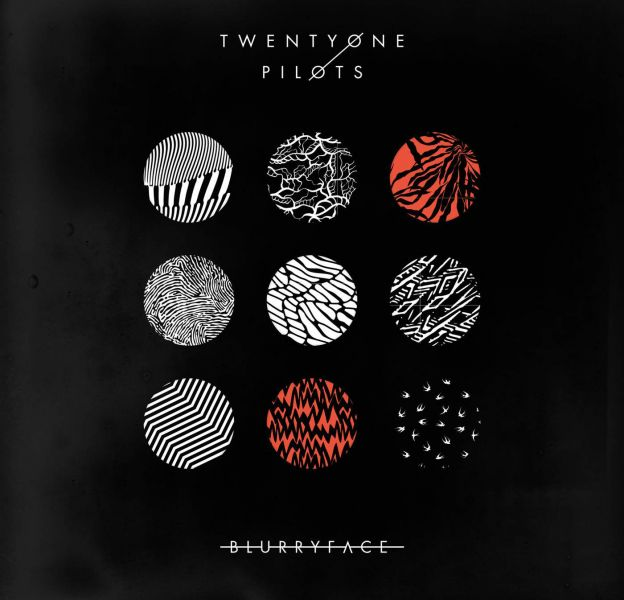 "1. Twenty One Pilots - ""Blurryface"""