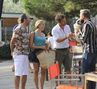 Bruno Solo et Jonathan Zaccaï dans 'Hôtel de la plage'