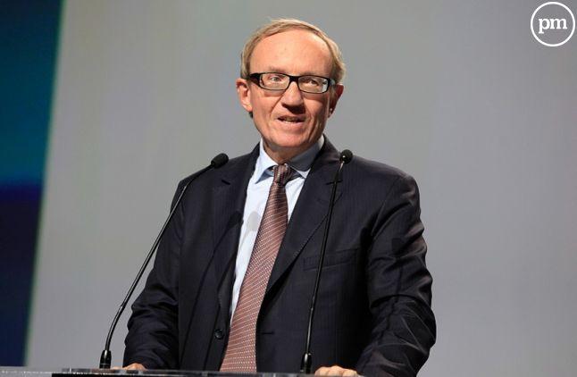 Bertrand Méheut, le président du groupe Canal+