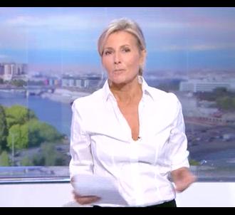 Les adieux de Claire Chazal au journal de TF1