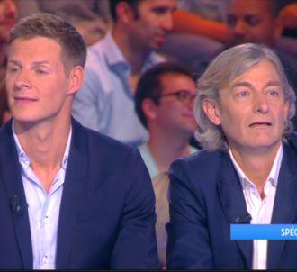 Gilles Verdez et Matthieu Delormeau sous hypnose
