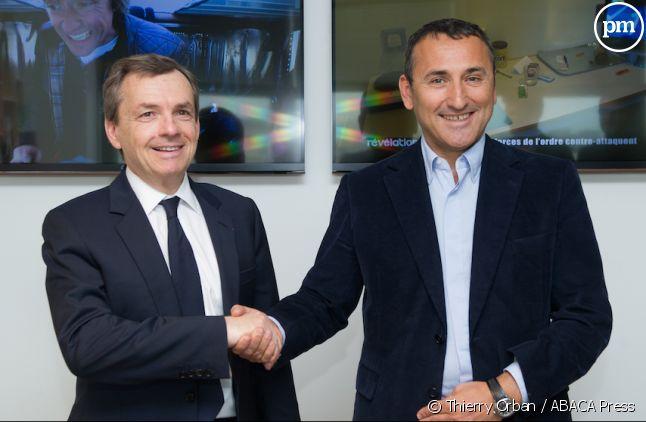 Alain Weill (NextRadioTV) et Pascal Houzelot (Numéro 23)