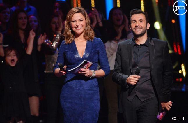 """Sandrine Quétier et Laurent Ournac dans """"Danse avec les stars"""""""