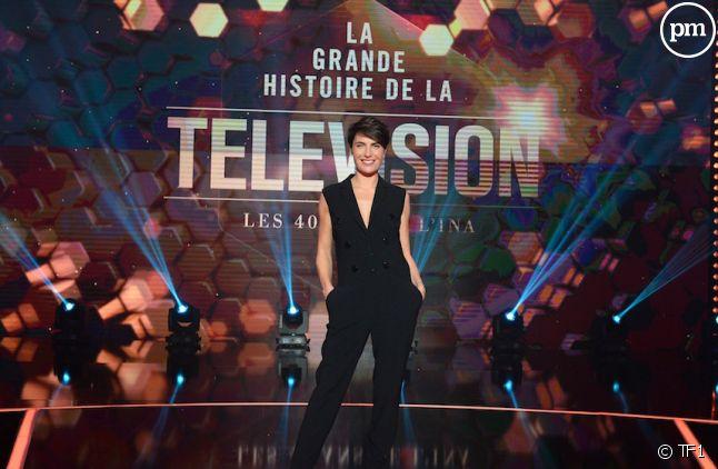 """Alessandra Sublet présente """"La grande histoire de la télévision"""""""