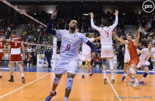 L'équipe de France de volley-ball en finale du TQO