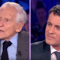 Jean d'Ormesson pique au vif Manuel Valls sur sa