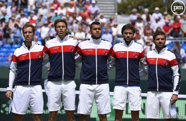 L'équipe de France de Coupe Davis en 2015