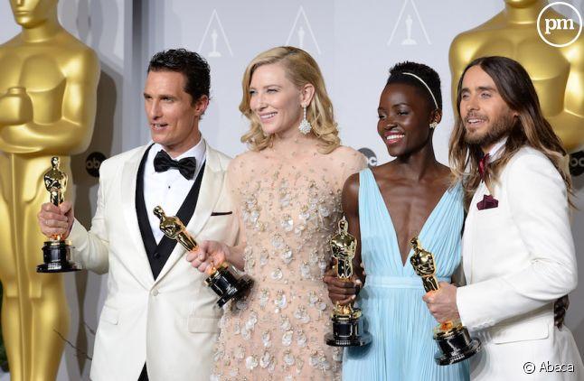 Lupita Nyong'o, actrice mexicaine-kényane a décroché l'Oscar du cinéma de la meilleure actrice dans un second rôle en 2014.