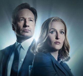 David Duchovny et Gillian Anderson dans 'X-Files'