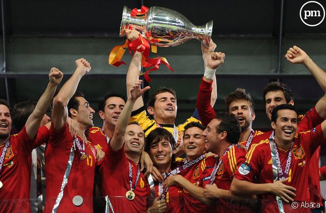 L'équipe d'Espagne a emporté l'Euro 2012
