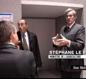 Stéphane Le Foll reproche violemment à BFMTV de ne pas...