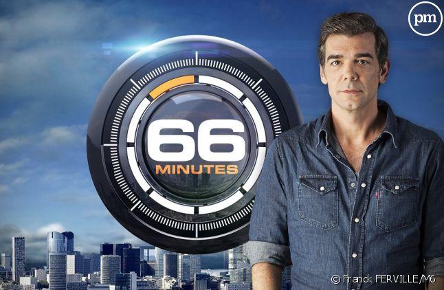 """<span>Xavier de Moulins, le présentateur de """"66 minutes""""</span>"""