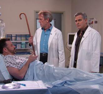 George Clooney et Hugh Laurie parodient 'Urgences'