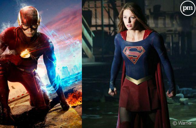 """""""Flash"""" et """"Supergirl"""" dans un crossover"""