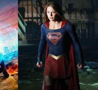 'Flash' et 'Supergirl' dans un crossover