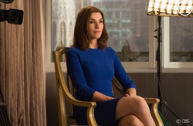 "Julianna Margulies dans ""The Good Wife"""