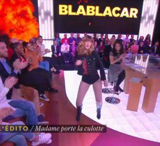 Daphné Bürki imite Beyoncé en culotte.