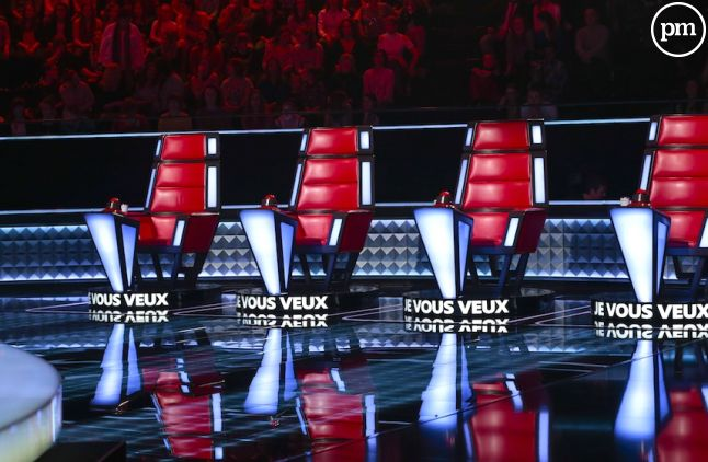 "Le plateau de ""The Voice"" 2016"