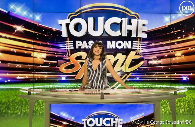 """Estelle Denis dans """"Touche pas à mon sport"""""""
