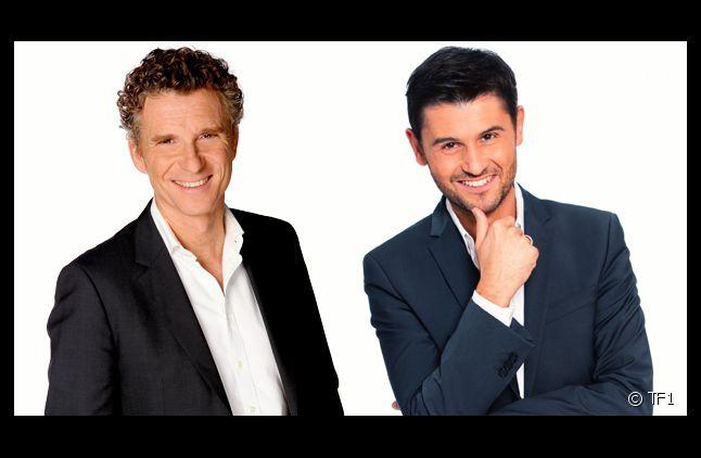 Denis Brogniart et Christophe Beaugrand.