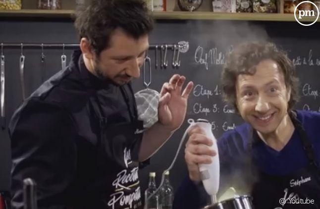"""Une association remontée contre """"Les Recettes Pompettes""""."""