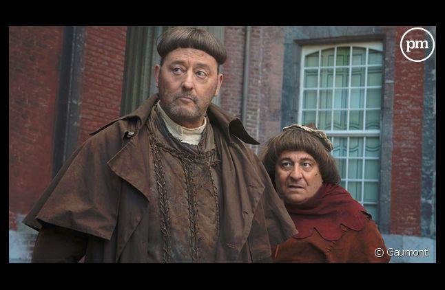 """""""Les Visiteurs 3"""", avec Jean Reno et Christian Clavier."""