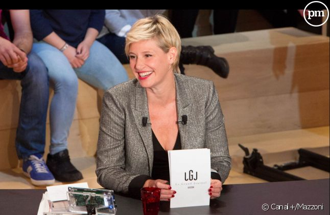 "Maïtena Biraben, ""Le Grand Journal"" de Canal+."