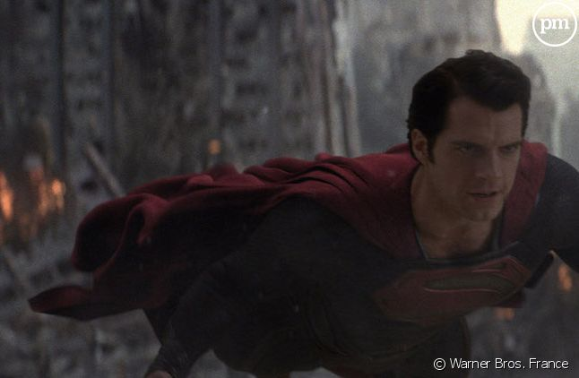 "Henry Cavill dans ""Man of Steel"""