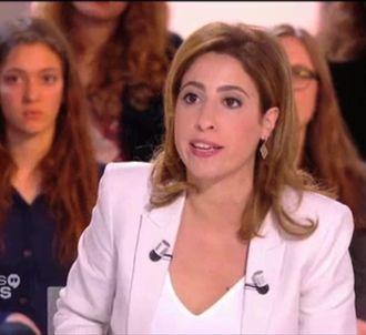 Léa Salamé, dans 'Dialogues citoyens' sur France 2.