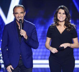 Nikos Aliagas et Karine Ferri dans 'The Voice' 2016