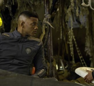 Jaden et Will Smith dans 'After Earth'