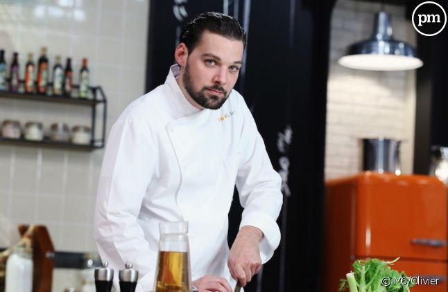 "Xavier, gagnant de ""Top Chef"" 2016."