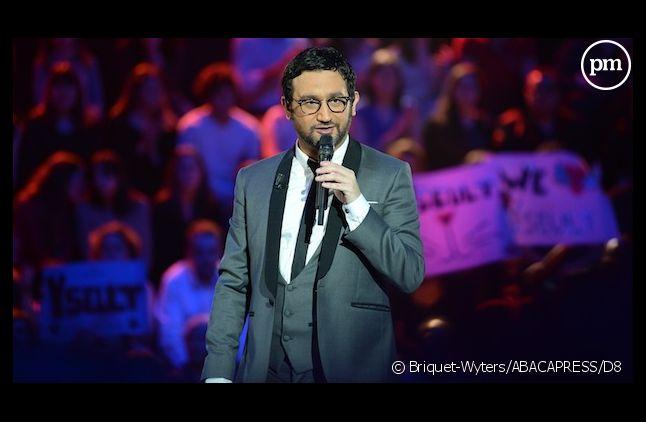 """Cyril Hanouna sur le plateau de """"Nouvelle Star"""" en 2013"""