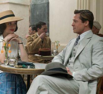Marion Cotillard et Brad Pitt dans 'Alliés'.