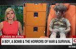 Une journaliste américaine très émue par la photo du petit Omran