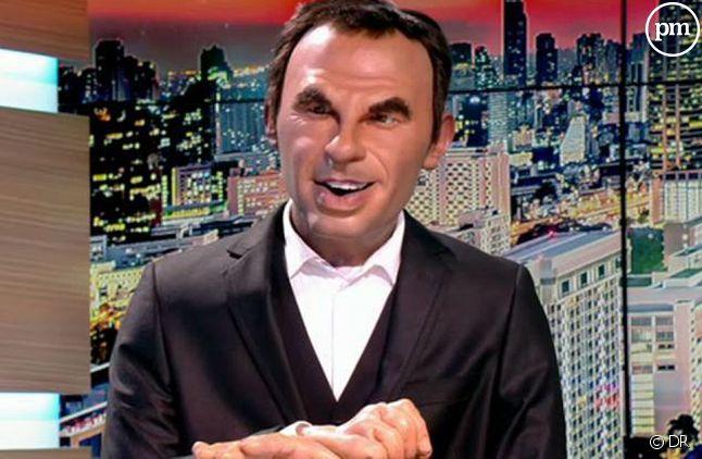 "Nikos, nouvel anchorman des ""Guignols""."