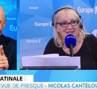 Pour son retour à Europe 1, Nicolas Canteloup chambre...