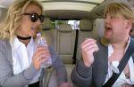 "Britney Spears s'invite dans le ""Carpool Karaoke"" de James Corden"