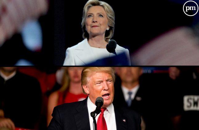 Clinton/Trump : le débat.