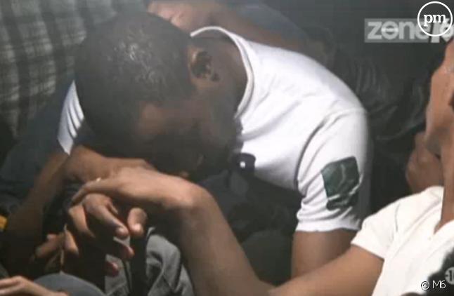 Capture d'écran du reportage sur les clandestins de 2013, diffusé sur M6.