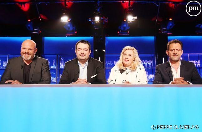 """Philippe Etchebest, Jean-François Piège, Hélène Darroze et Michel Sarran dans """"Top Chef"""""""