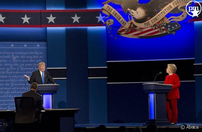 Le débat opposant Donald Trump à Hillary Clinton