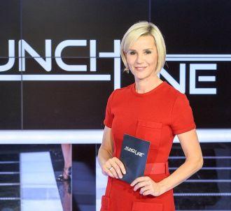 Laurence Ferrari sur le plateau de 'Punchline'