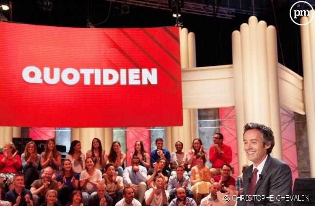 """Yann Barthès anime """"Quotidien"""" sur TMC"""