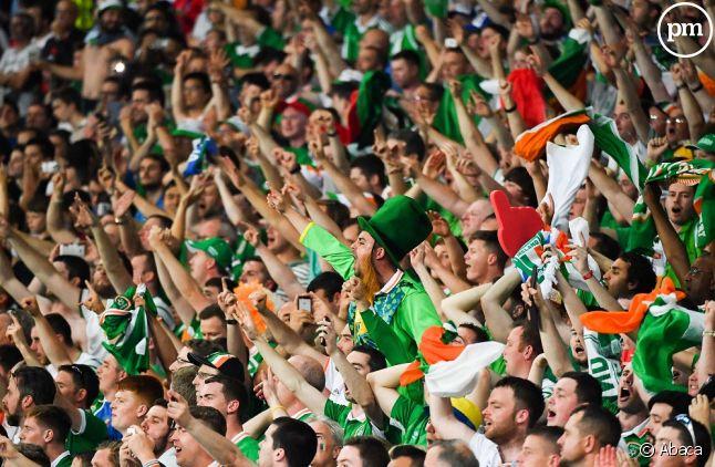Les supporters irlandais pendant l'Euro 2016.
